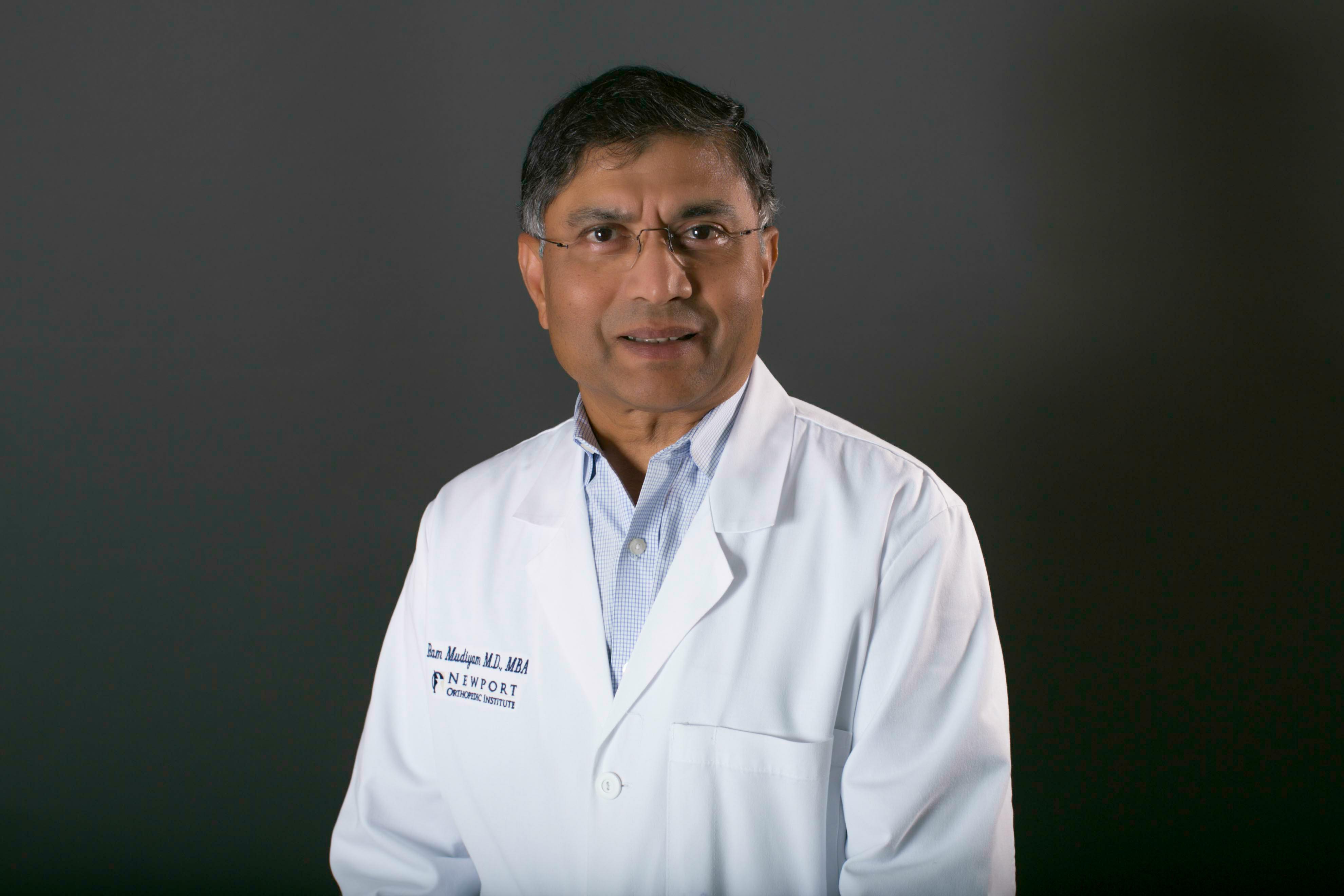Ram Mudiyam MD, MBA   Orange County Orthopedic Services